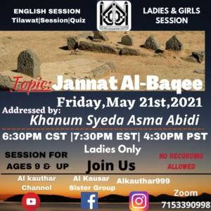 Ladies Baqee Majlis