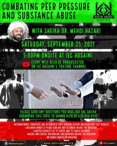 Sheik Mehdi Hazari - Combating Peer Pressure and Substance Abuse
